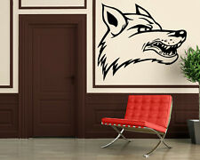 Wall Stickers Vinyl Decal Wolf Animal Nature Tribal Rage ig122