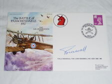 Army Communications - First Day Cover - Signed - Flown - Numbered -Passchendaele