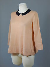 COS wool cotton A-line peach pink jumper size M