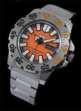 NEW MEN'S SEIKO 5 SPORTS 23 JEWEL AUTOMATIC 100M MINI MONSTER WATCH SNZF49J1