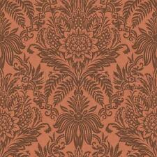 Metallic Feature Damask Bronze - Crown Signature Copper Wallpaper M1113