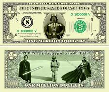 STAR  WARS  # 1 . Million Dollar USA . Billet de commémoration / Collection 2013