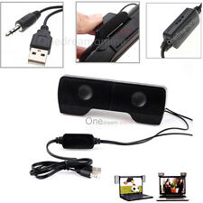 Stereo Mini Portable Notebook USB Speaker For Mp3 Phone Music Player laptop PC