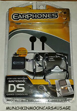 New Stereo Earphones for Original Nintendo DS & GameBoy Game Boy Advance SP