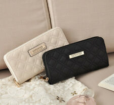 NEW Fashion Kardashian Kollection women purse female wallet cosmetic Bag Black