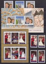 Cook - Aitutaki - Penrhyn 2011 Hochzeit William & Kate 3 Blocks + 3 Sätze ** MNH