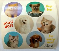 60 Rachael Hale Dog Cat Puppy Kitty  Stickers Party Favors FREE SHIP