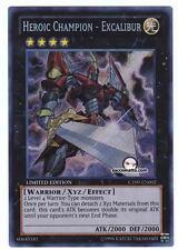 YUGIOH • CT09-EN002 Campione Eroico Excalibur Heroic Champion • SEGRETA