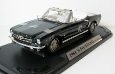 MotorMax American Graffiti 1964 1/2 Ford Mustang Diecast Car 1:18 Black MIB