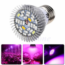 28W E27 LED 28 Grow Light Kit Hydroponics Plant Veg Flower Lamp Blub