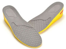 FreshGadgetz Adjustable Height Shoe Insole Odor Eliminating Yellow Grey - Men