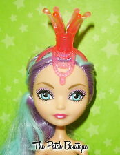 BARBIE EVER AFTER MONSTER HIGH SIZE DOLL PINK JESTER CROWN HEADBAND GR84 OOAK