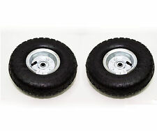 "2X New Replacement 10"" Pneumatic Trolley Wheel Cart Barrow Truck Sack Tyre Tyres"