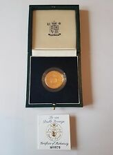 1994 £ 2 GOLD proof Bank of England-DUE STERLINE-DOUBLE sovrano-FDC-RARA