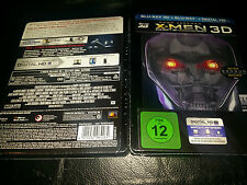 X-Men: Days Of Future Past 3D+2D BluRay MediaMarket Lenticular Steelbook New OOP