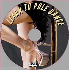 BEGINNERS POLE DANCING TUITION FOR FITNESS STAMINA NEW STEP BY STEP VIDEO DVD