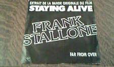 45 tours extrait de la bande originale du film staying alive frank stallone