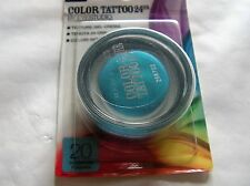 MAYBELLINE EYESTUDIO COLOR TATTOO 24H N° 20 turquoise forever  NEUF SOUS BLISTER