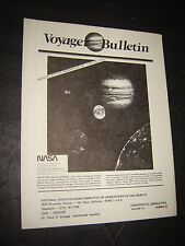 Voyage Bulletin Vol 12 #3 - 1979 Paranormal UFO FLYING SAUCERS magazine