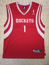 Tracy McGrady Houston Rockets Men's XL Reebok Swingman Red Sewn NBA Jersey