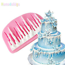 DIY 3D Cold Ice Silicone Cake Mold Fondant Molds Decorating Baking Tools Mould