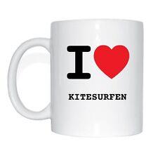 I love KITESURFEN Tasse Kaffeetasse