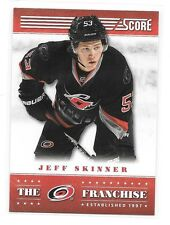 2013-14 Score Franchise # TF-5 Jeff Skinner Carolina Hurricanes
