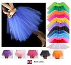 High Quality Ladies Girls Tutu Skirt Fancy Skirts Dress Up Hen Party 3 Layers