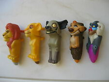 Lot of 5 McDonald's/ Disney's 2003 Lion King 1 1/2 Happy Meal Toys #1,2,3, 5 & 6