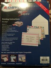 Ampad PC Paper Print Your Invitations/Notes 50 Cards Print, Write Or Copy