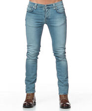 Nudie jeans GRIM TIM NAVY CRISP W30 L32 denim LIGHT BLUE SLIM FIT