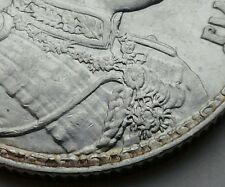 Thailand 1 Baht 1917 (BE2460). Y#45. .900 Silver One Dollar coin. Elephants. RVI