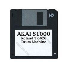 Akai S1000 Floppy Disk Roland TR-626 Drum Machine