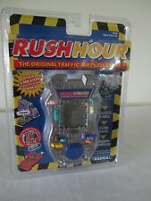 NEW RADICA RUSH HOUR TRAFFIC JAM PUZZLE GAME HANDHELD ELECTRONIC 2001 FREE SHIP