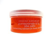 CUCCIO Naturale Pomegranate & Fig Sea Salts Scrub 8oz/240g