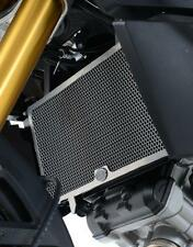R&G BLACK RADIATOR GUARD for SUZUKI DL1000 V-STROM, 2014 to 2016