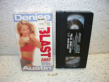 Denise Austin Blast Away Ten Pounds Workout VHS Video Out Of Print In Shrink