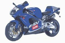 2 STAGE APRILIA TOUCH UP PAINT KIT RSV1000 MILLE 2000 - 02 ELECTRIC BLUE.