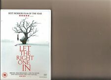 LET THE RIGHT ONE IN DVD SWEDISH VAMPIRE HORROR