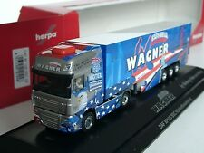 Herpa DAF XF 105 SSC, Spedition WAGNER - PC 121248
