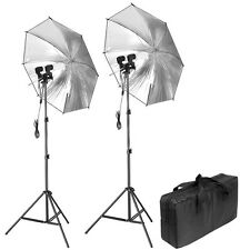 Neewer Photography, Video, and Portrait Studio Umbrella Continuous Lighting Kit
