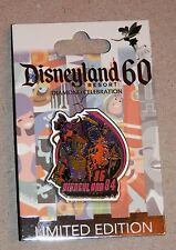 DLR Disneyland 60th Diamond Decades 85-94 Pin LE Captain EO Star Tours More