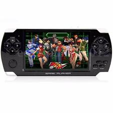 Black 4.3'' Screen 8G 32 Bit Portable Handheld Game Console 1000+ Retro Games
