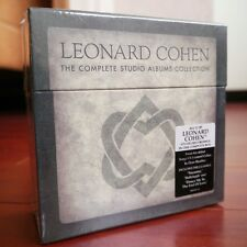 """NEW SEALED! Leonard Cohen """"The Complete Studio Albums Collection"""" 11 CD Box Set"""