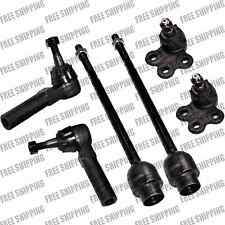 Front Lower Ball Joint+ Inner+Outer Tie Rods For Chevy Impala/Pontiac Grand Prix