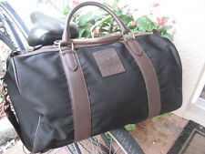 NEW  Polo Ralph Lauren Duffle Overnight Travel Gym Canvas Bag - BLACK