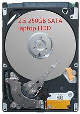 Festplatte 250GB SATA 2,5 Zoll Notebook Laptop Harddisk HDD HP FSC DELL IBM ASUS