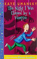 Night I Was Chased By A Vampire (Dolphin Books), Kaye Umansky