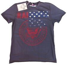 AMPLIFIED RAMONES USA Stars Hey Ho Let's Go Rock Star Vintage T-Shirt g.M 48