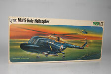 Frog French Naval Aviation Lynx Multi-Role Helicopter, 1:72 SCALE, BOXED